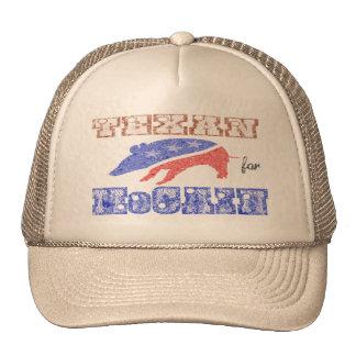 Texan for McCain Armadillo Texas Hat
