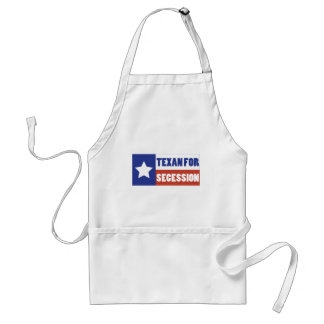 Texan for Secession Adult Apron