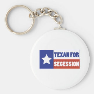 Texan for Secession Key Chains
