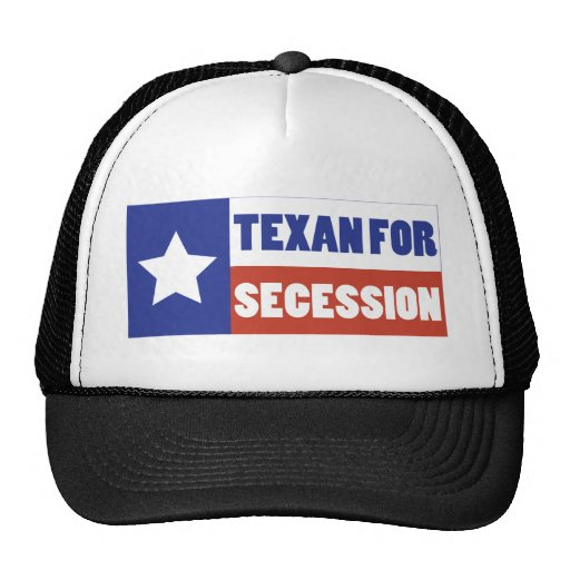 Texan for Secession Mesh Hats