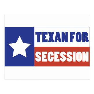 Texan for Secession Postcard
