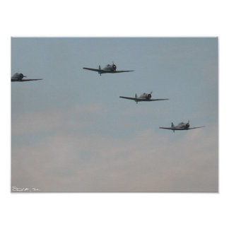 Texan Formation Poster