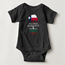 Texan Grown with Bulgarian Roots Baby Bodysuit