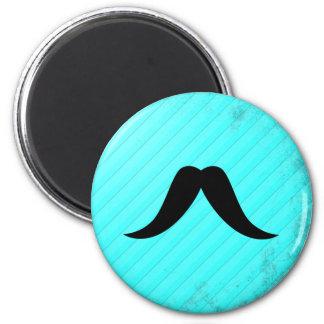 Texan Mustache 2 Inch Round Magnet