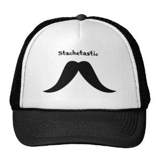 Texan Mustache Mesh Hat
