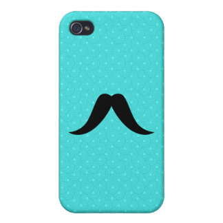 Texan Mustache Case For iPhone 4