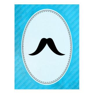 Texan Mustache Postcard