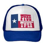 Texan orgulloso gorros