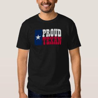Texan orgulloso playeras