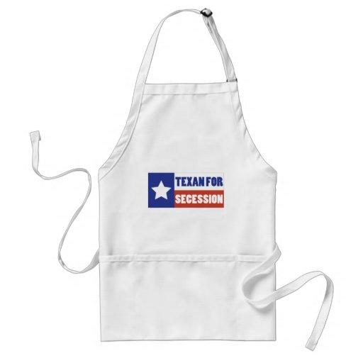 Texan para la secesión delantal