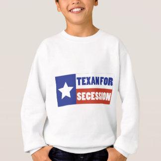 Texan para la secesión sudadera