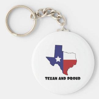 Texan y orgulloso llavero