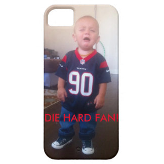 Texans Cry Baby die hard fan iPhone SE/5/5s Case