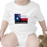Texans for Mitt Romney Baby Creeper