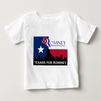 Texans for Mitt Romney Baby T-Shirt