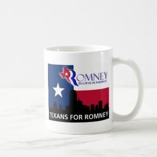 Texans for Mitt Romney Coffee Mug