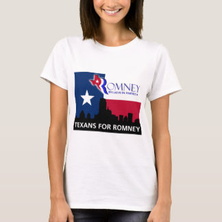 Texans for Mitt Romney T-Shirt