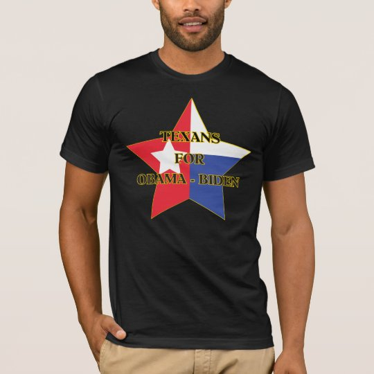 Texans for Obama-Biden T-Shirt