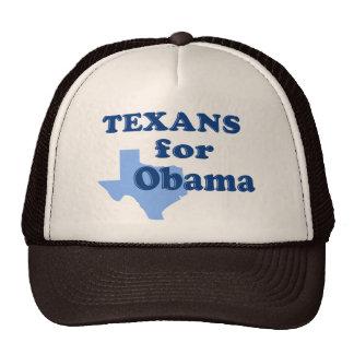 Texans for Obama Trucker Hat