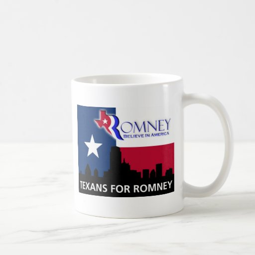 Texans for Romney Coffee Mugs