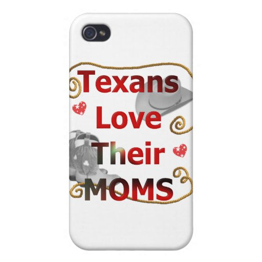 Texans Love their Moms iPhone 4/4S Cover