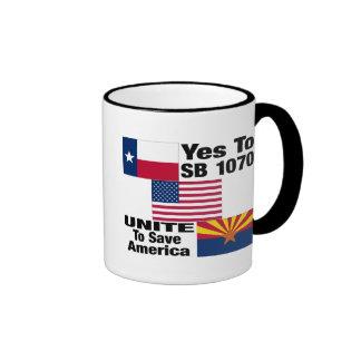 Texans para Arizona sí a la taza 1070 de café del
