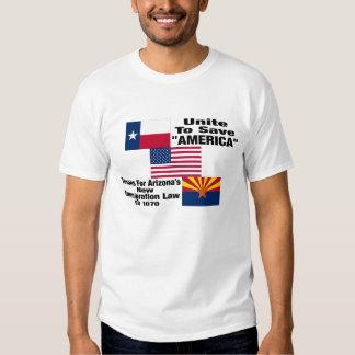 """Texans para la camiseta """"oficial"""" de Arizona Camisas"""