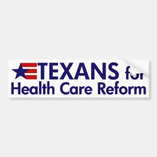 Texans para la pegatina para el parachoques de la  pegatina para auto