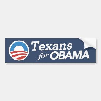 Texans para la pegatina para el parachoques de Oba Pegatina Para Auto