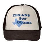Texans para Obama Gorros