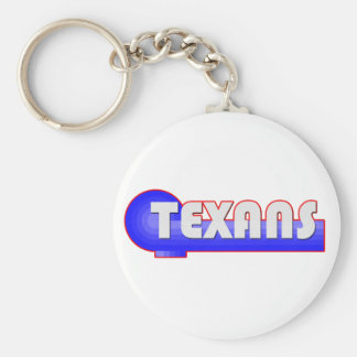 Texans retros llavero redondo tipo pin