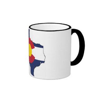 Texarado Coffee Mug Texas + Colorado