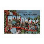 Texarkana, Arkansas (Waterfall Scene) Postcards