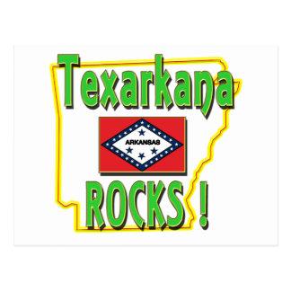 Texarkana Rocks ! (green) Postcard