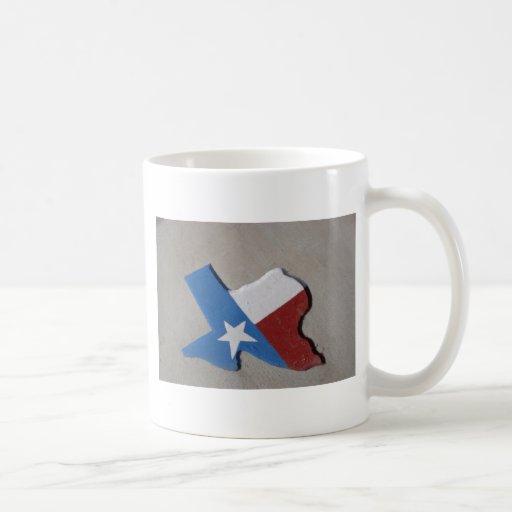 Texas-001 Taza Básica Blanca