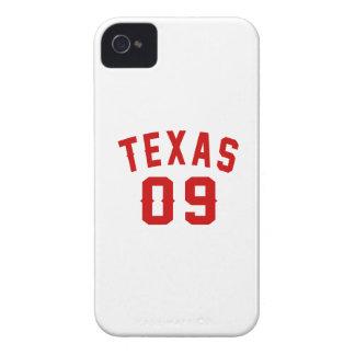 Texas 09 Birthday Designs Case-Mate iPhone 4 Case