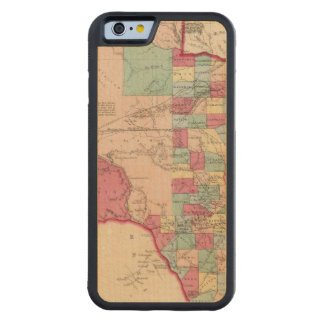 Texas 10 carved® maple iPhone 6 bumper case