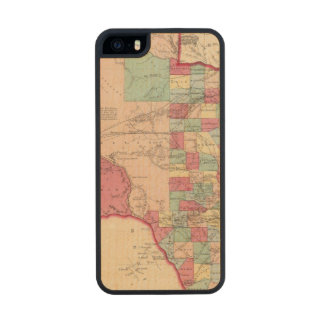 Texas 10 wood phone case for iPhone SE/5/5s