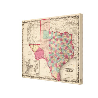 Texas 11 canvas print