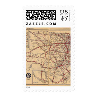 Texas 11 postage stamp
