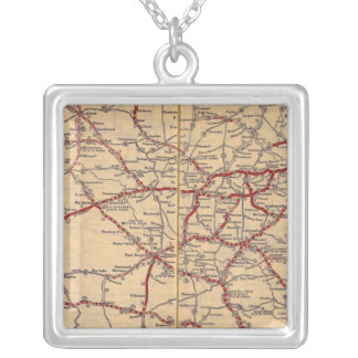 Texas 11 silver plated necklace
