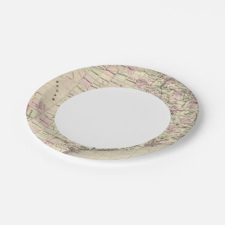 Texas 12 paper plate