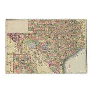 Texas 13 laminated place mat