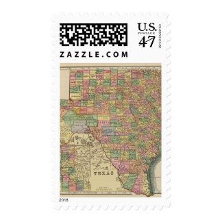 Texas 13 stamp