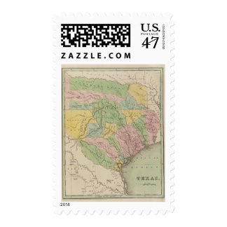 Texas 14 postage stamp