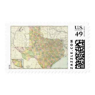 Texas 15 postage