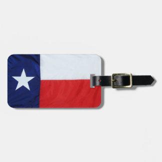Texas 1of2 luggage tag