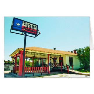 Texas 290 Diner, Johnson City, TX Stationery Note Card