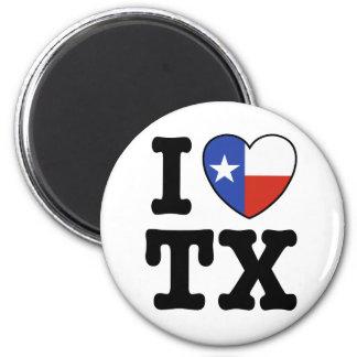 Texas 2 Inch Round Magnet