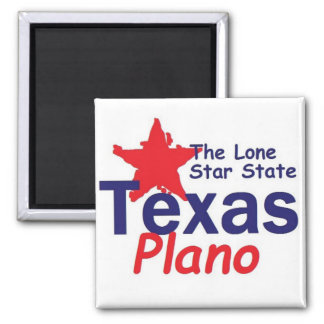 TEXAS 2 INCH SQUARE MAGNET